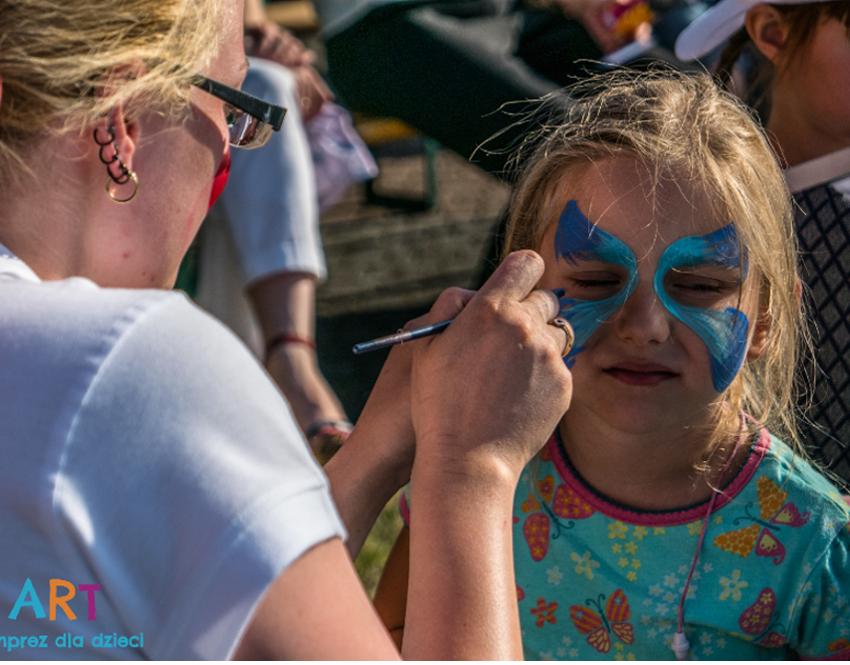 malowanie twarzy poznan dla dzieci
