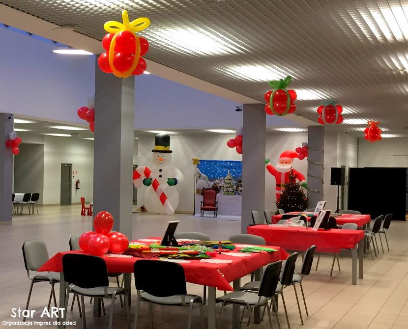 Imprezy Mikołajkowe dla dzieci