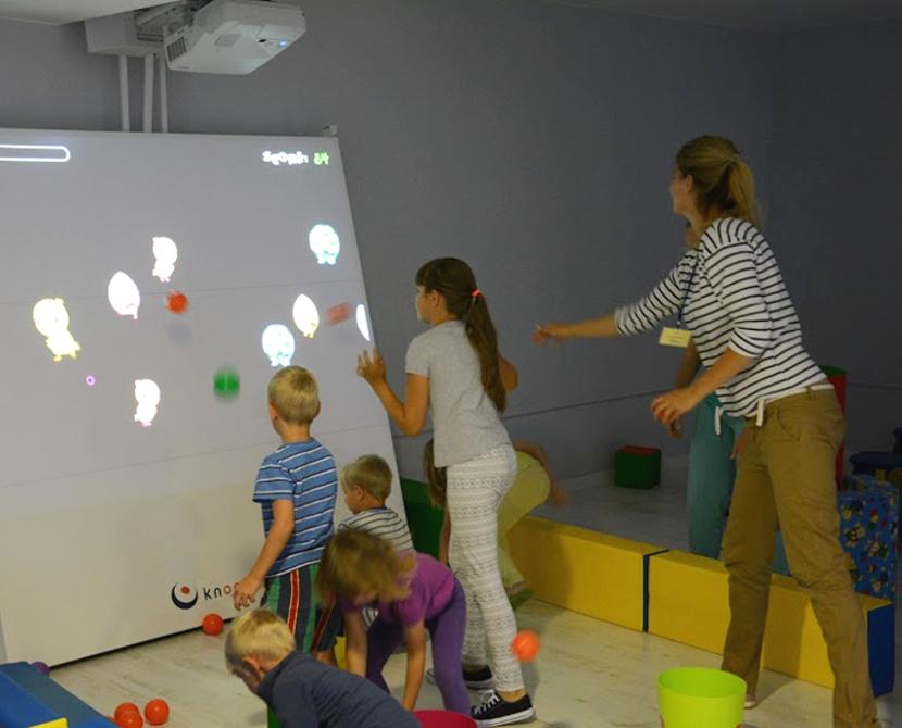 Knoocker atrakcja dla dzieci Poznań