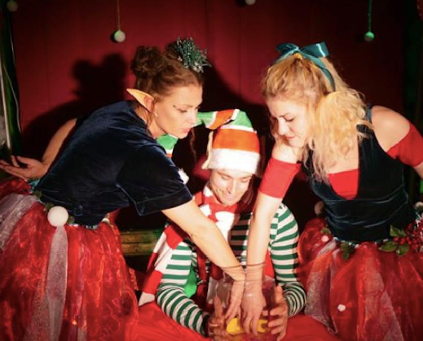 Świąteczne przedstawienie teatralne dla dzieci