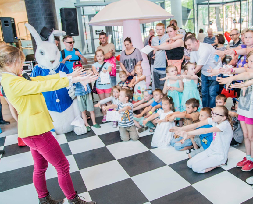 Pokaz magii dla dzieci Star ART Poznań